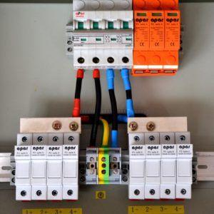 Rozdzielnica do instalacji fotowoltaicznych 4 stringi