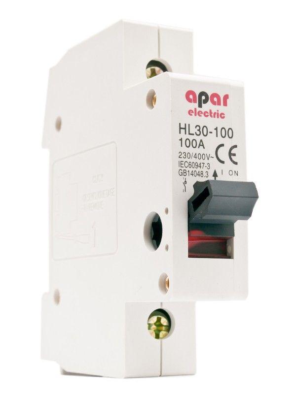 32A 1P Rozłącznik izolacyjny wyłącznik główny APAR ELECTRIC