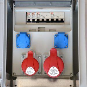 Rozdzielnia budowlana Erbetka elektryczna IP65 XC1632W