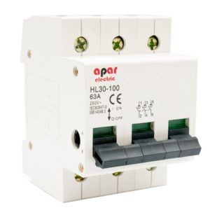 32A 3P Rozłącznik izolacyjny wyłącznik główny APAR ELECTRIC