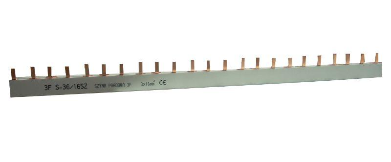 3F - S36 szyna sztyftowa bolcowa prądowa łączeniowa