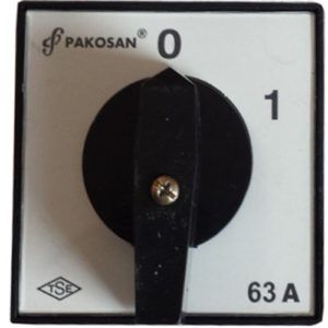 Wyłącznik tablicowy 01 63A 3 faz Łącznik krzywkowy
