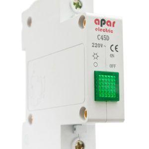 Lampka sygnalizacyjna zielona APAR ELECTRIC