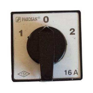 Wyłącznik tablicowy 1-0-2 16A Łącznik krzywkowy