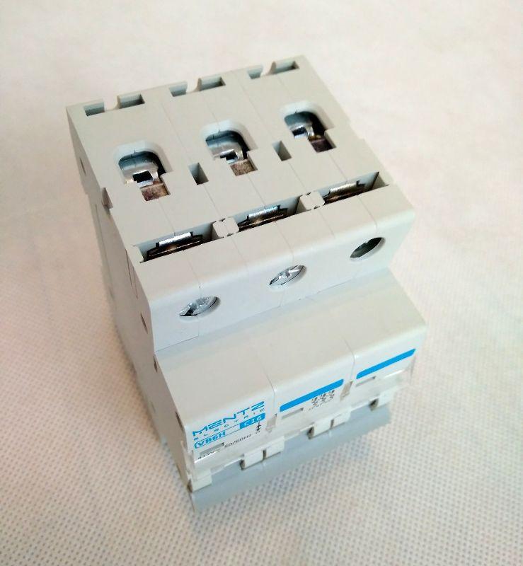 M B16 3P Wyłącznik nadprądowy B16A 3-faz bezpiecznik 3P