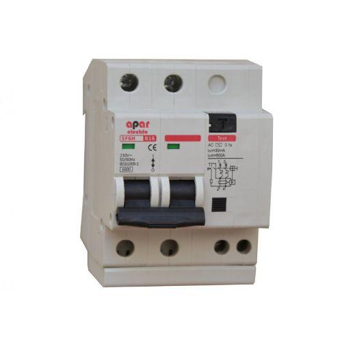 Wyłącznik nadprądowy z różnicówką B10 2P