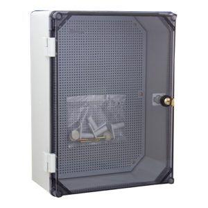 Uni 2/T 300x400 Skrzynka hermetyczna z zamkiem IP65