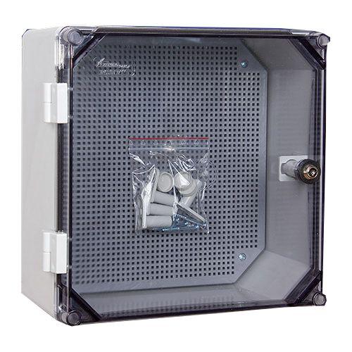 Uni 0/T 300x300 Skrzynka hermetyczna z zamkiem IP65