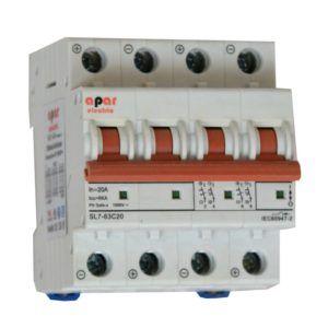 16A 1000V 4P DC Wyłącznik nadprądowy PV