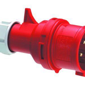 Wtyczka przenośna PCE Twist 025-6 32A 5P