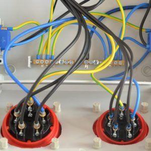 Rozdzielnica elektryczna rozdzielnia AP232WR