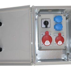 Rozdzielnia elektryczna IP65 XRLO11 Erbetka