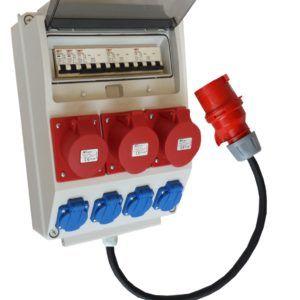 Rozdzielnica elektr rozdzielnia F3W 16/5 32A/5+przewód