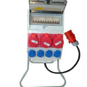 Rozdzielnica elektr rozdzielnia F3W 16/5 32A/5+stojak+przewód