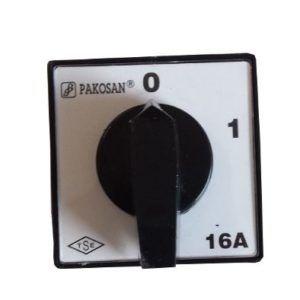 Wyłącznik tablicowy 01 16A 3 faz Łącznik krzywkowy