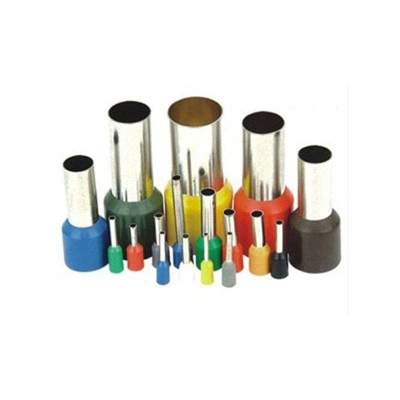 Tulejka izolowana kablowa 10 mm 100szt Tulejki kablowe E1012