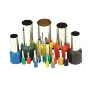 Tulejka izolowana kablowa 2,5mm 100szt Tulejki kablowe E 2508