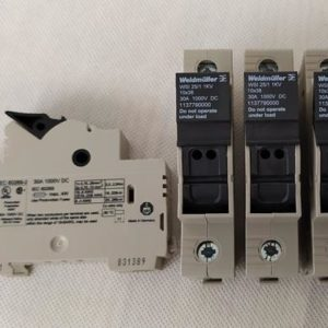 Rozłącznik bezpiecznikowy DC 10x38