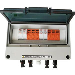 Rozdzielnica PV fotowoltaika 1000V DC SW2+ 2MPPT