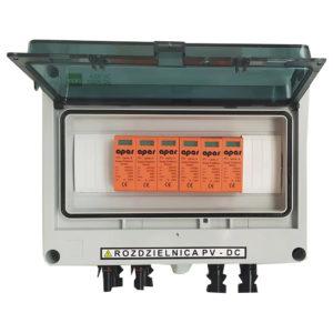 Rozdzielnica PV fotowoltaika 1000V DC SW2 2MPPT