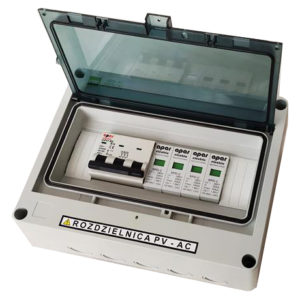 Rozdzielnica PV AC fotowoltaika ACS3 APAR 3faz