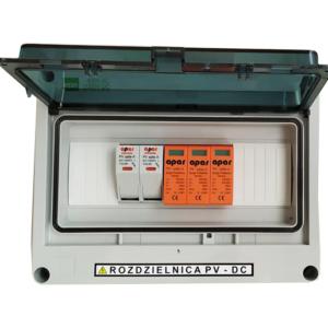Rozdzielnica PV fotowoltaika 1000V DC SW1M+ 1MPPT