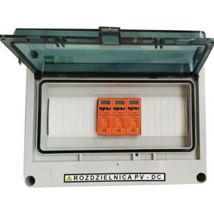 Rozdzielnica PV fotowoltaika 1000V DC SW1M 1MPPT