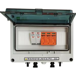 Rozdzielnica PV fotowoltaika 1000V DC SW1+ 1MPPT