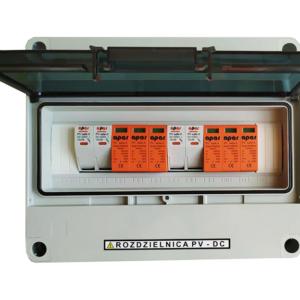 Rozdzielnica PV fotowoltaika 1000V DC SW2M+ 2MPPT