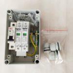 Rozdzielnica PV AC fotowoltaika ACS1 APAR 1 faza