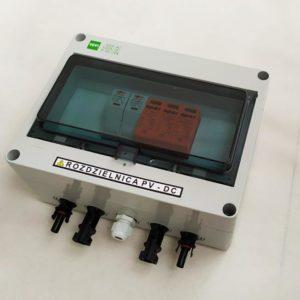 Zestaw rozdzielnica AC + DC standard 1 faz 1 mppt