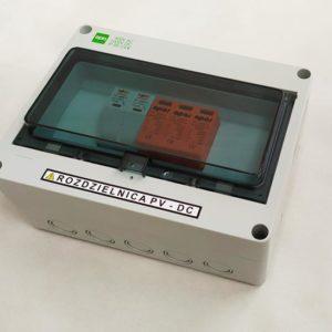 Zestaw rozdzielnica AC + DC standard 3 faz 1 mppt