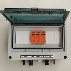 Rozdzielnica PV fotowoltaika 1000V DC SW1 1MPPT