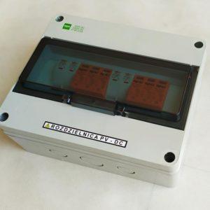 Zestaw rozdzielnica AC + DC standard 3 faz 2 mppt
